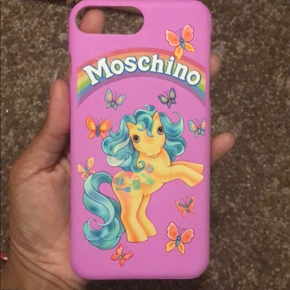 finest selection 1655f 03794 Moschino My Little Pony 8 plus case